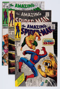 Silver Age (1956-1969):Superhero, The Amazing Spider-Man Group (Marvel, 1968-69) Condition: Average VF/NM.... (Total: 4 Comic Books)