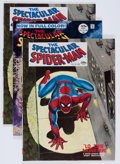 Magazines:Superhero, Spectacular Spider-Man #1 and 2 Group (Marvel, 1968) Condition:Average FN+.... (Total: 7 Comic Books)