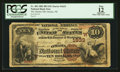 National Bank Notes:Nebraska, Omaha, NE - $10 1882 Brown Back Fr. 482 The Omaha NB Ch. # (W)1633. ...