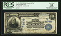 National Bank Notes:Nebraska, Schuyler, NE - $10 1902 Plain Back Fr. 624 The First NB Ch. # (W)2778. ...