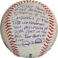 Autographs:Baseballs, 2007 Gary Sheffield Career Home Run #463 Baseball....