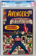 Silver Age (1956-1969):Superhero, The Avengers #16 (Marvel, 1965) CGC VF+ 8.5 Off-white pages....