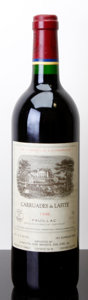 Red Bordeaux, Carruades de Lafite 1996 . Pauillac. Bottle (1). ... (Total: 1 Btl. )