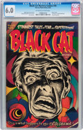 Golden Age (1938-1955):Horror, Black Cat Mystery #45 (Harvey, 1953) CGC FN 6.0 Off-white to whitepages....