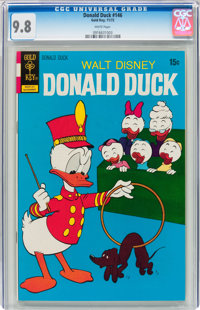 Donald Duck #146 (Gold Key, 1972) CGC NM/MT 9.8 White pages