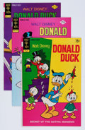 Bronze Age (1970-1979):Cartoon Character, Donald Duck Bronze Age Group (Gold Key, 1972-79) Condition: AverageNM....
