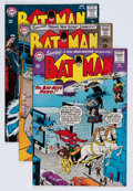 Silver Age (1956-1969):Superhero, Batman Group (DC, 19) Condition: Average FN/VF.... (Total: 4 Comic Books)