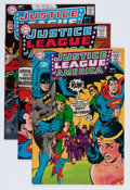 Silver Age (1956-1969):Superhero, Justice League of America Group (DC, 1968-69) Condition: Average VF/NM.... (Total: 4 Comic Books)