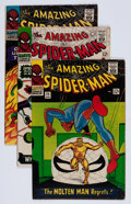 Silver Age (1956-1969):Superhero, The Amazing Spider-Man #35-38 Group (Marvel, 1966) Condition: Average FN.... (Total: 4 Comic Books)
