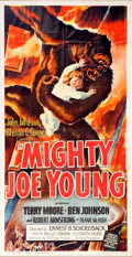 Memorabilia:Poster, Mighty Joe Young Three Sheet Movie Poster (RKO, 1949)....