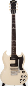 Musical Instruments:Electric Guitars, 1963 Gibson SG Special White Solid Body Electric Guitar, Serial #109714....