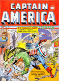 Original Comic Art:Covers, Joe Simon Captain America Comics #6 Cover Re-CreationOriginal Art (undated)....