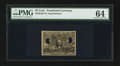 Fractional Currency:Second Issue, Milton 2E25F.3f 25¢ Second Issue Experimental Face PMG Choice Uncirculated 64.. ...