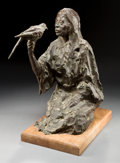 Sculpture, KENNETH RODNEY BUNN (American, b. 1938). Talking Bird, 1977. Bronze. 20 inches (50.8 cm). Ed. 3/7. Signed and dated on b...