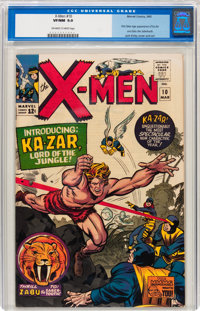 X-Men #10 (Marvel, 1965) CGC VF/NM 9.0 Off-white to white pages
