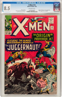 X-Men #12 (Marvel, 1965) CGC VF+ 8.5 Off-white pages