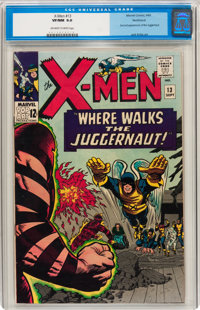 X-Men #13 Northland pedigree (Marvel, 1965) CGC VF/NM 9.0 Off-white to white pages