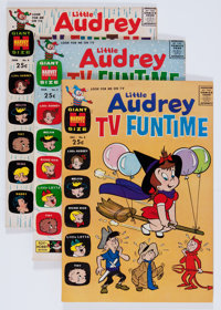 Little Audrey TV Funtime File Copies Group (Harvey, 1962-71) Condition: Average NM-.... (Total: 59 Comic Books)