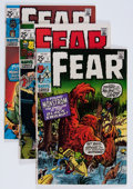 Bronze Age (1970-1979):Horror, Fear Group (Marvel, 1970-75) Condition: Average FN/VF.... (Total:12 Items)