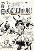 Original Comic Art:Covers, Bill Draut Warfront #39 Dynamite Joe Cover Original Art(Harvey, 1967)....