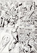 Original Comic Art:Panel Pages, Jack Kirby and Vince Colletta Thor #137 Page 5 Original Art(Marvel, 1967)....