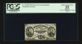 Fractional Currency:Third Issue, Fr. 1274SP 15¢ Third Issue Narrow Margin Face PCGS Apparent Choice About New 55.. ...