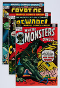 Bronze Age (1970-1979):Horror, Marvel Bronze Age Horror Comics Group (Marvel, 1970s) Condition:Average FN+.... (Total: 46 Items)