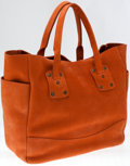 Luxury Accessories:Bags, Heritage Vintage: Ghurka Rust Natural Leather Clinton Tote Bag. ...