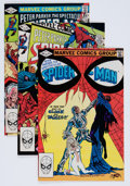 Modern Age (1980-Present):Superhero, Spectacular Spider-Man Group (Marvel, 1982-87) Condition: AverageNM-.... (Total: 81 Comic Books)