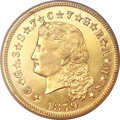 1879 $4 Flowing Hair, Judd-1635, Pollock-1833, R.3, PR63 Cameo PCGS Secure. CAC