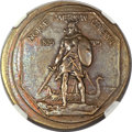 Commemorative Silver, 1925 Norse Medal -- Oversize Brass Pattern -- MS64 NGC. ...