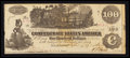 Confederate Notes:1862 Issues, T39 $100 1862 F-5 Cr. 290.. ...