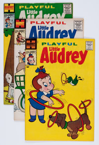 Playful Little Audrey File Copies Group (Harvey, 1960s) Condition: Average VF/NM.... (Total: 57 Comic Books)