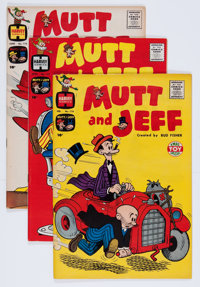 Mutt and Jeff File Copies Group (Harvey, 1960s) Condition: Average VF/NM.... (Total: 39 Comic Books)