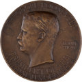 Political:Inaugural (1789-present), Theodore Roosevelt: Official St. Gaudens Inaugural Medal. ...