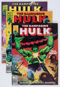Magazines:Superhero, The Rampaging Hulk #1-9 Group (Marvel, 1977-78) Condition: AverageNM-.... (Total: 9 Comic Books)