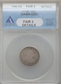 Early Dimes: , 1798 10C Large 8 -- Damaged -- ANACS. Fair 2 Details. NGC Census:(1/68). PCGS Population (0/68). Mintage: 27,550. Numismed...
