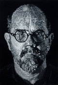 Prints:Contemporary, CHUCK CLOSE (American, b. 1940). Self-Portrait, 2001.Colored pressed handmade paper pulp consisting of eleven variousg...
