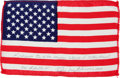 Explorers:Space Exploration, Apollo 14 Flown American Flag Directly from the Personal Collectionof Mission Lunar Module Pilot Edgar Mitchell, Signed and C...