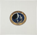 Explorers:Space Exploration, Apollo 14 Flown Beta Cloth Mission Insignia Directly from thePersonal Collection of Mission Lunar Module Pilot Edgar Mitchell...