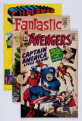 Silver Age (1956-1969):Superhero, Golden Records Reprints Group (Golden Records, 1966).... (Total: 3 Comic Books)