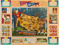 Football Collectibles:Others, 1945 College Football All American Poster....