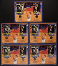 Basketball Collectibles:Others, Bill Walton and John Wooden Multi Signed Displays Lot of 5. ...