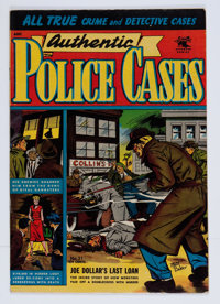 Authentic Police Cases #31 (St. John, 1954) Condition: FN/VF