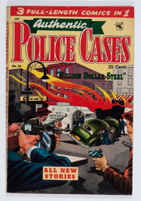 Authentic Police Cases #26 (St. John, 1953) Condition: VG