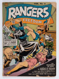 Golden Age (1938-1955):Adventure, Rangers Comics #3 (Fiction House, 1942) Condition: FR....