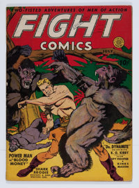 Fight Comics #7 (Fiction House, 1940) Condition: FN