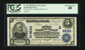 National Bank Notes:Pennsylvania, Cambridge Springs, PA - $5 1902 Plain Back Fr. 598 The First NB Ch.# (E)6533. ...