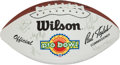 Football Collectibles:Balls, 1994 NFC Pro Bowl Team Signed Football....