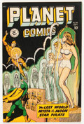 Golden Age (1938-1955):Science Fiction, Planet Comics #56 (Fiction House, 1948) Condition: FN-....